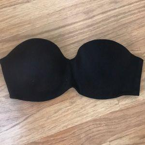Victoria Secret strapless bra black 34C